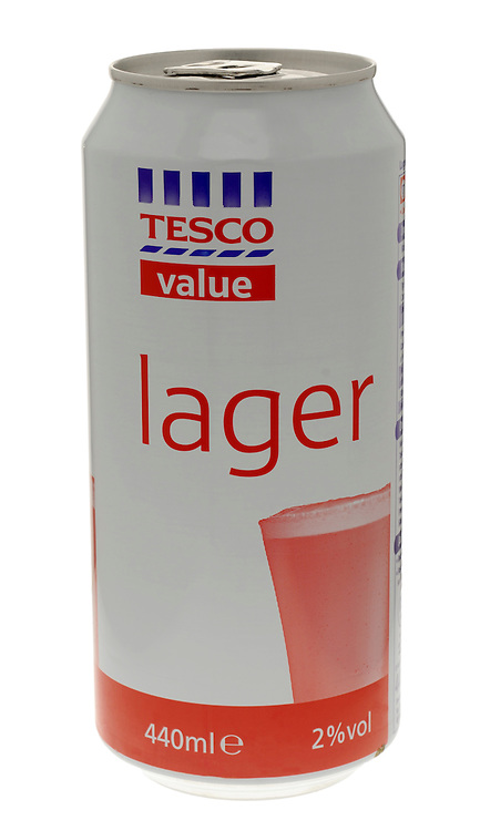 Can of Cheap Supermarket Lager