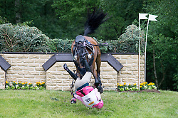 Fredericks Lucinda (AUS) - Flying Finish <br /> Cross Country <br /> CCI4*  Luhmuhlen 2014 <br /> © Hippo Foto - Jon Stroud