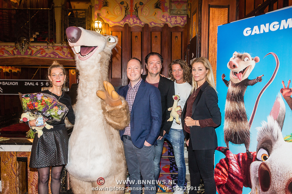 NLD/Amsterdam/20160617 - Onthulling stemmencast Ice Age Collision Course,