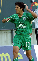 Mesterligaen, Champions League Trondheim 11.08.2004, Rosenborg , RBK  - Maccabi Haifa 2-1, Idan Tal<br /><br />Foto: Carl-Erik Eriksson, Digitalsport