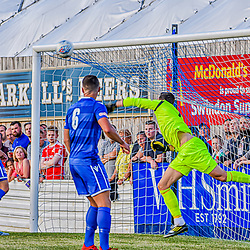 Supermarine fc vs Swindon town 5/07/2019 Wiltshire England UK. Supermarine football club Martin Horsell