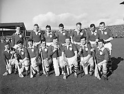 Railway Cup Final, Munster v Leinster. Leinster Team..17.03.1961