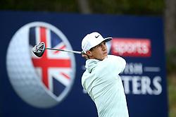 Thorbjorn Olesen during day two of the British Masters at Walton Heath Golf Club, Surrey.