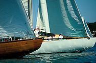 Yacht Race, Sag Harbor, Shelter Island, New York, USA