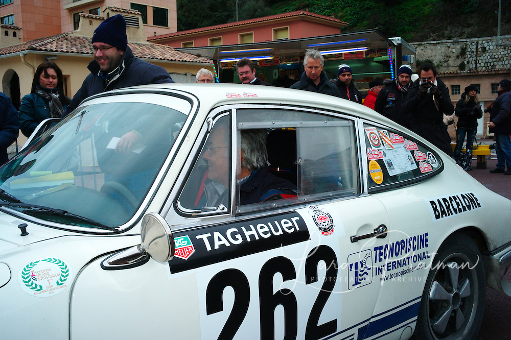 The 14th Rallye Monte Carlo Historique. Celebrating 100 years of the Rally. 1911-2011. Cars start from either Glasgow,Marakesh, Warsaw, Reims, Barcelona or Paris.