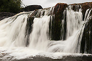 Corona Falls<br /> Rewa River<br /> Rainforest<br /> GUYANA. South America