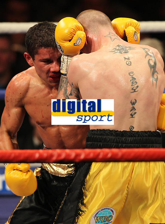 Boxing - WBO Super-featherweight World Title - Ricky Burns vs. Andreas Evensen<br /> <br /> <br /> Ricky Burns defeats Andreas Evensen on points  - WBO Superfeatherweight World Title between Ricky Burns vs. Andreas Evensen at Braehead Arena.