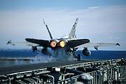 F/A-18C Hornet Cat Shot