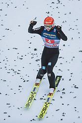 03.01.2021, Bergiselschanze, Innsbruck, AUT, FIS Weltcup Skisprung, Vierschanzentournee, Innsbruck, Einzelbewerb, Herren, im Bild Markus Eisenbichler (GER) // Markus Eisenbichler of Germany during the men's individual competition for the Four Hills Tournament of FIS Ski Jumping World Cup at the Bergiselschanze in Innsbruck, Austria on 2021/01/03. EXPA Pictures © 2020, PhotoCredit: EXPA/ JFK
