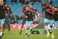 Gaël Clichy (Manchester City) warms up before the Champions League match between Manchester City and Celtic at the Etihad Stadium, Manchester, England on 6 December 2016. Photo by Mark P Doherty.