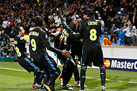FOOTBALL - CHAMPIONS LEAGUE 2010/2011 - GROUP STAGE - GROUP F - OLYMPIQUE MARSEILLE v ZILINA - 19/10/2010 - PHOTO PHILIPPE LAURENSON / DPPI -  SOULEYMANE DIAWARA (OM) JOY AFTER HIS GOAL