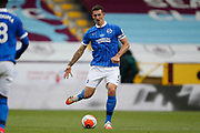 Brighton and Hove Albion defender Lewis Dunk (5) during the Premier League match between Burnley and Brighton and Hove Albion at Turf Moor, Burnley, England on 26 July 2020.