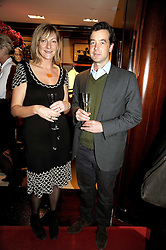 at a party to celebrate the publication of Catherine Blyth's book 'The Art of Conversation' held at Ralp Lauren, Bond Street, London on 4th November 2008.