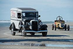 Harley-Davidson panel truck at the Race of Gentlemen. Wildwood, NJ, USA. October 10, 2015.  Photography ©2015 Michael Lichter.