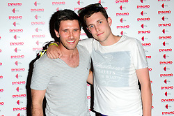 """Dynamo: Magician Impossible series 3. <br /> Danny Howard & Scott Mills attends the launch party of Dynamo: Magician Impossible series 3, Held at """"Pulse"""" Blackfriars, <br /> London, United Kingdom<br /> Tuesday, 9th July 2013<br /> Picture by Chris Joseph / i-Images"""