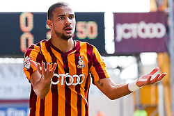 Bradford City's James Meredith reacts after a decision goes against him - Photo mandatory by-line: Matt McNulty/JMP - Mobile: 07966 386802 - 07/03/2015 - SPORT - Football - Bradford - Valley Parade - Bradford City v Reading - FA Cup - Quarter Final