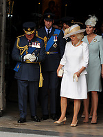 Prince Charles, Camilla, Duchess of Cornwall, Prince William, Duke of Cambridge and Catherine Duchess of Cambridge  at the RAF centenary ceremony held at Westminster Abbey in London, UK on the 10th July 2018. Photo: