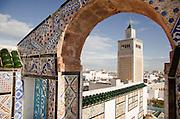 Al-Zaytuna Mosque in Ezzitouna, Tunisia