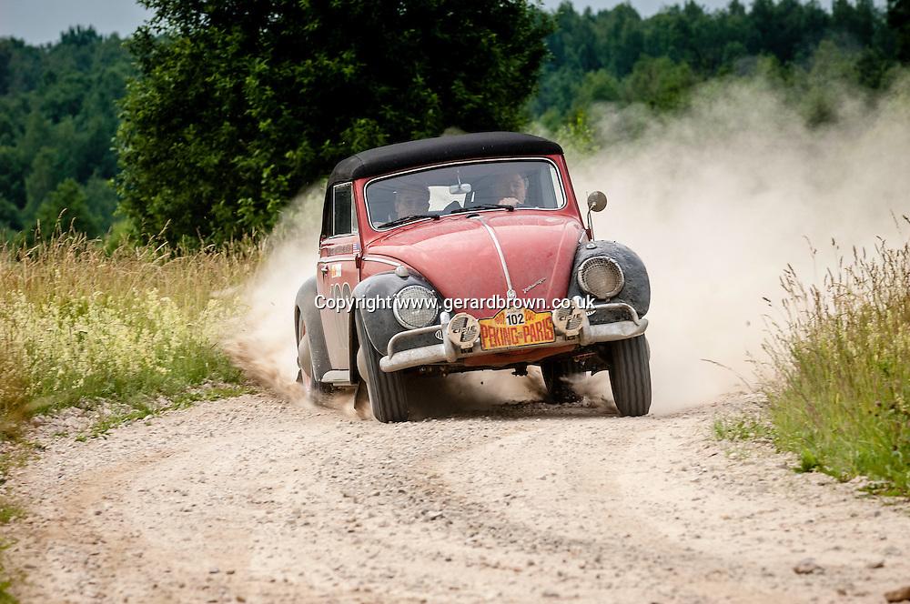 Car 102. 1959 VW Beetle Cabriolet.