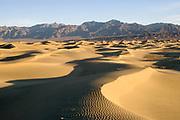 Mesquite Sand Dunes at sunrise.Death Valley National Park, California