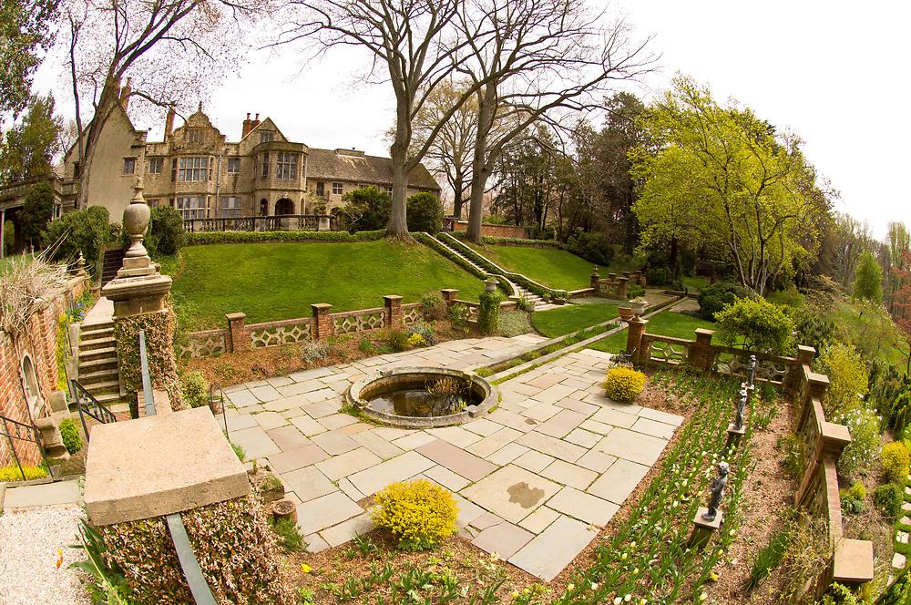 Virginia House museum and gardens, Richmond, Virginia USA