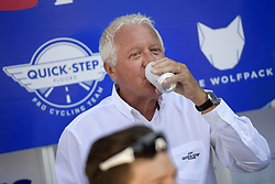 July 23, 2018 - Mende, FRANCE - Quick-Step Floors CEO Patrick Lefevere pictured during the second rest day of the 105th edition of the Tour de France cycling race in Carcassone, France, Monday 23 July 2018. This year's Tour de France takes place from July 7th to July 29th. BELGA PHOTO YORICK JANSENS (Credit Image: © Yorick Jansens/Belga via ZUMA Press)