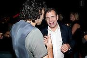 DANIEL KHALILI;  POJU ZABLUDOWICZ, Jay Jopling hosts a party at Soho House. Miami Beach. Miami art Basel. 30 November 2010. -DO NOT ARCHIVE-© Copyright Photograph by Dafydd Jones. 248 Clapham Rd. London SW9 0PZ. Tel 0207 820 0771. www.dafjones.com.