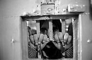 Roma 2000.Carcere di Regina Coeli  .Detenuto in cella.Regina Coeli (Queen of Heaven) Prison.Prisoner in the cell