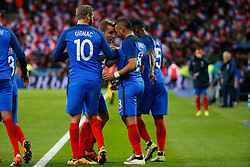29.03.2016, Stade de France, St. Denis, FRA, Testspiel, Frankreich vs Russland, im Bild gignac andre pierre, digne lucas, payet dimitri, sagna bacary // during the International Friendly Football Match between France and Russia at the Stade de France in St. Denis, France on 2016/03/29. EXPA Pictures © 2016, PhotoCredit: EXPA/ Pressesports/ Sebastian Boue<br /> <br /> *****ATTENTION - for AUT, SLO, CRO, SRB, BIH, MAZ, POL only*****