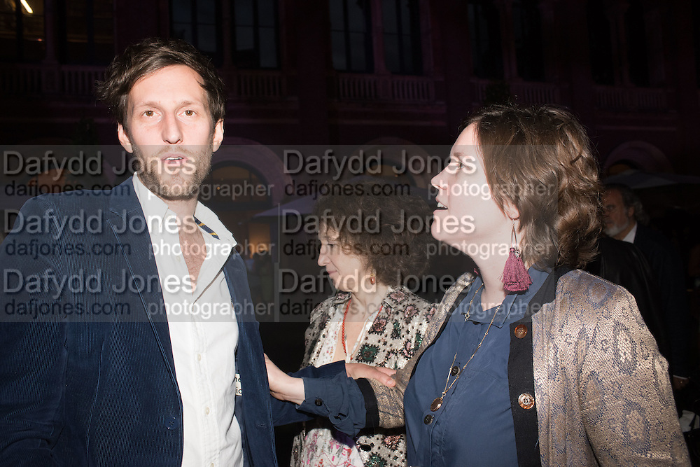 HENRY HUDSON; HANNAH WATSON, V & A Summer party. South Kensington. London. 22 June 2016