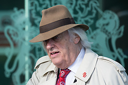 © Licensed to London News Pictures. 26/04/2016. Warrington, UK. MICHAEL MANSFIELD QC arrives at the court where the jury is due to deliver their verdicts at the Hillsborough Inquest, at the coroner's court at Birchwood Park.  Photo credit: Joel Goodman/LNP