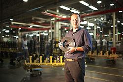 O Controller, José Lamir, na sede das indústrias Android, em Gravataí. FOTO: Jefferson Bernardes/Preview.com