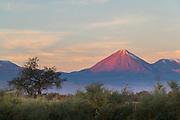 Licancabur volcano in Atacama Desert, Chile