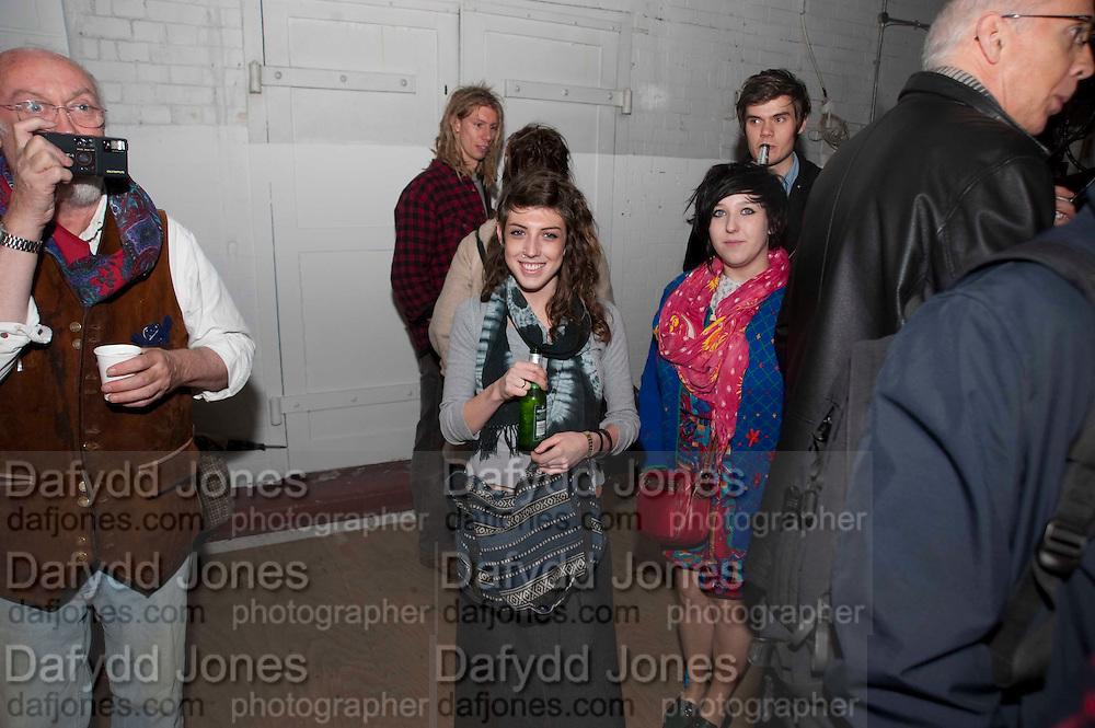 ELEANOR HARPER, Opening of Statues Die Too.- Group exhibtion of Gabriele Beveridge, Niamh Riordan, Lise Hoveson, Rose O'Gallivan, Poppy Jones. The Garage. North Terrace, South Kensington. London. 16 November 2009.