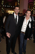 "Matthew Goode and  Jonathan Rhys-Meyers.  The after show party following the UK Premiere of ""Match Point,"" at Asprey, New Bond st. London.   December 18 2005 ,  ONE TIME USE ONLY - DO NOT ARCHIVE  © Copyright Photograph by Dafydd Jones 66 Stockwell Park Rd. London SW9 0DA Tel 020 7733 0108 www.dafjones.com"