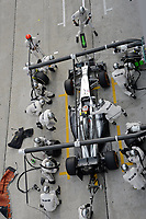 MOTORSPORT - F1 2014 - GRAND PRIX OF MALAYSIA  - SEPANG (MAL) - 28 TO 30/03/2014 - <br /> MAGNUSSEN KEVIN (DAN) - MCLAREN MERCEDES MP4-29 - ACTION<br /> CHANGEMENT DE PNEUS - TIRES CHANGE