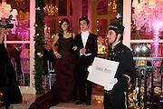 PALOMA URGUIJO LOBEL DE AYALA; DOMINIC BEKAERT. The 2008 Crillon Debutante Ball, Crillon Hotel. Paris. 29 November 2008 *** Local Caption *** -DO NOT ARCHIVE -Copyright Photograph by Dafydd Jones. 248 Clapham Rd. London SW9 0PZ. Tel 0207 820 0771. www.dafjones.com