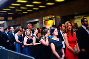 June 10, 2017-New York, New York-United States: Audience attends the 71st Annual Tony Awards Media Room held at Radio City on June 11, 2017 in New York City. The Tony Awards recognize achievement in Broadway productions during the 2016–17 season.  (Photo by Terrence Jennings/terrencejennings.com)