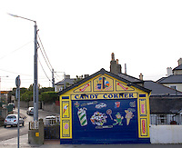 Candy Corner shop at the seaside town of Bray in Wicklow Ireland