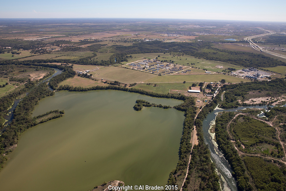 Austin Wastewater Treatment Plant and Sand Hill Power Plant, Austin, TX