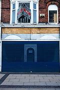 Empty retail units in Middlesborough city centre.