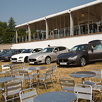 Maserati sponsored the Press Centre at the Goodwood Festival of Speed 2013