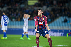 February 28, 2017 - San Sebastian, Spain - Match day of La Liga Santander 2016 - 2017 season between Real Sociedad and S.D Eibar, played Anoeta Stadium on Thuesday, March 28th, 2017. San Sebastian, Spain. 9 Sergi Enrich. (Credit Image: © Ion Alcoba/VW Pics via ZUMA Wire/ZUMAPRESS.com)