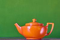 France, Moselle (57), Sarreguemines, theiere // France, Moselle department, Sarreguemines, teapot