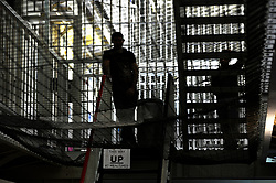 Embargoed to 0001 Monday December 10 File photo dated 29/04/13 of inmates in a prison. The UK has the highest number of prisoners serving life sentences in Europe, according to a report.