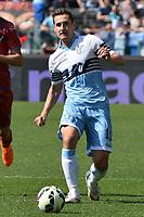 Miroslav Klose Lazio.<br /> Roma 12-04-2015 Stadio Olimpico. Football Calcio 2014/2015 Serie A. Lazio - Empoli. Foto Antonietta Baldassarre / Insidefoto