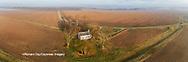 63895-17301 Pleasant Grove Methodist Church at sunrise Marion Co. IL