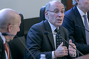 Peter Rosen, Mediator & Arbitrator, JAMS moderated the Pre-arbitration, Pre-litigation, Dispute Resolution panel. Advisen's Transaction Insurance Insights Conference at New York Law School.