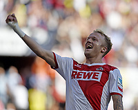 Fotball<br /> Tyskland<br /> 18.10.2014<br /> Foto: Witters/Digitalsport<br /> NORWAY ONLY<br /> <br /> 1:0 Jubel Torschuetze Kevin Vogt (Koeln)<br /> Fussball Bundesliga, 1. FC Köln - Borussia Dortmund