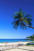 Kauna'oa Beach, Mauna Kea Beach Hotel, Island of Hawaii, Hawaii, USA<br />